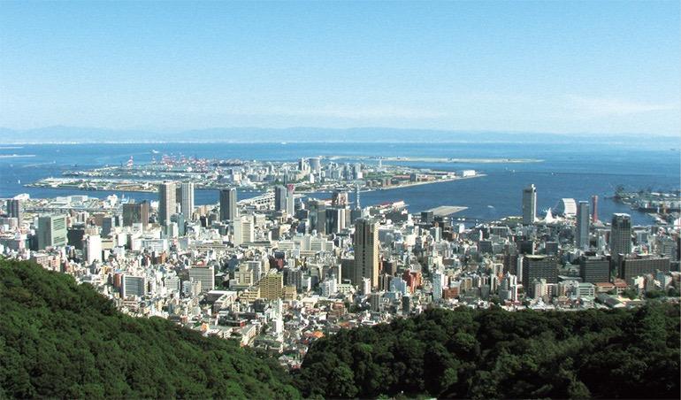 温暖でおだやかな神戸の気候は、海に近いことが理由にあげられる