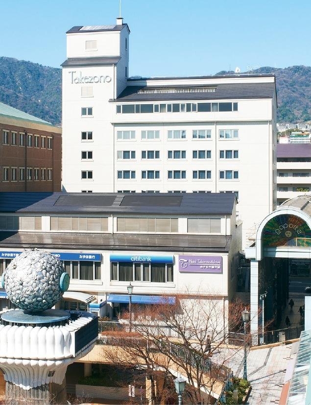竹園旅館の心をのこす現在のホテル竹園芦屋