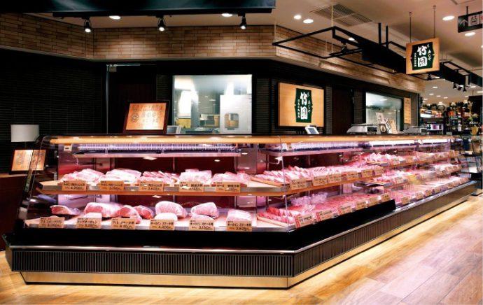2012年、阪急百貨店に「あしや竹園うめだ阪急店」を出店。売上は好調で2015年には年間特別報奨優秀賞を受けた