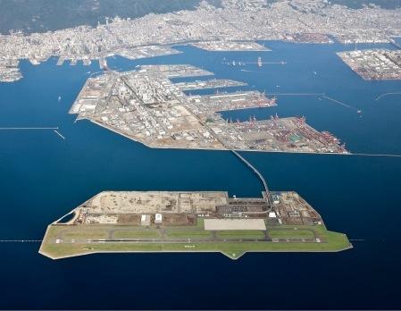 神戸空港が24時間運用化すれば、交通アクセスのよさに磨きがかかる