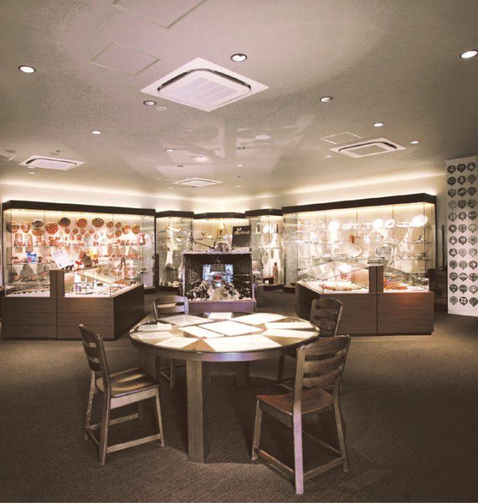 洋菓子にまつわる貴重なコレクションを有する。今後、世界に誇れる総合洋菓子ミュージアムの設立を目指す