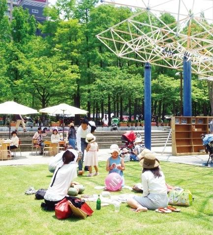 神戸再生の可能性を秘める東遊園地で開催された「アーバンピクニック」