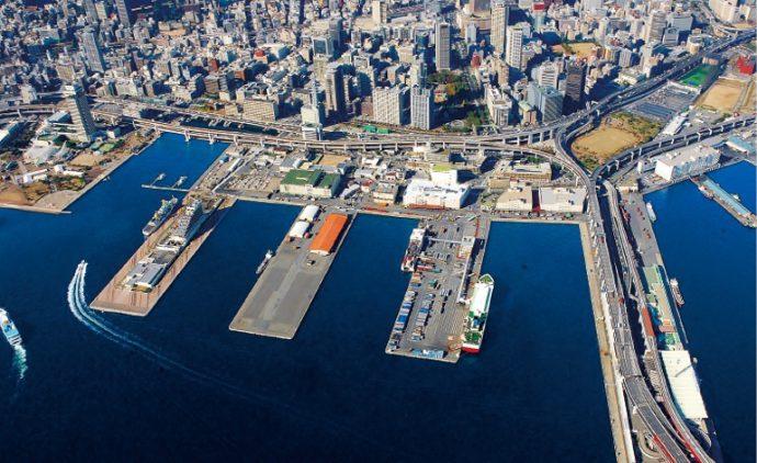 新港突堤西地区の構想では、「観光と集客エリア」、「海のエントランスエリア」、「文化・創造産業複合エリア」と、エリアごとに分類されている
