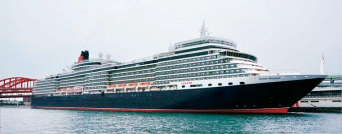 イギリスの大型旅客船として名高い「クイーンエリザベス」