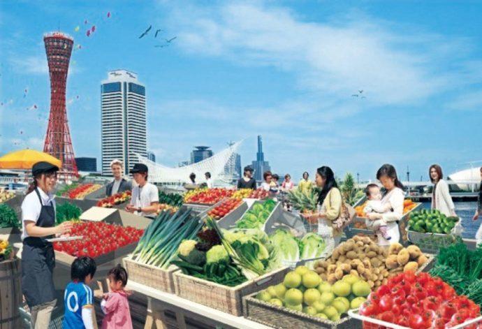 食を通じて、神戸港に愛着をもってもらうイベントも複数計画されている