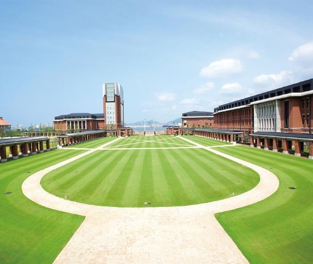 同じくポートアイランドにある神戸学院大学とも連携を図る