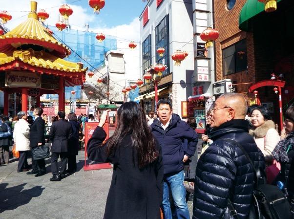 曹英生さんに南京町を案内いただきました