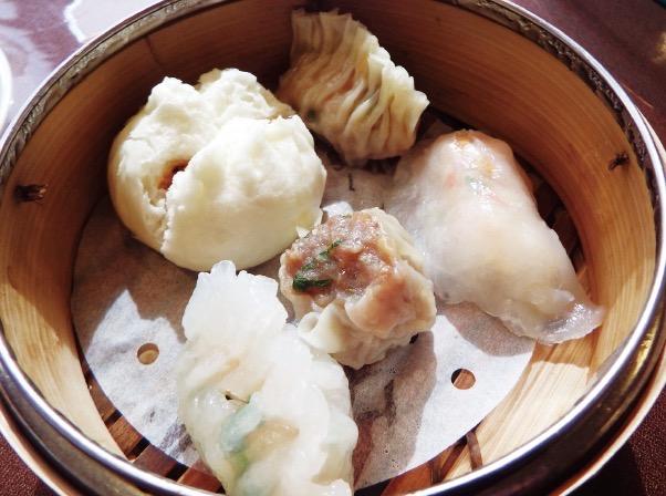 群愛茶餐廳の手作り香港式点心