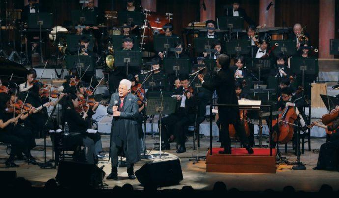 2015年からはじまった玉置浩二さんとフルオーケストラの競演は国内外を席巻した