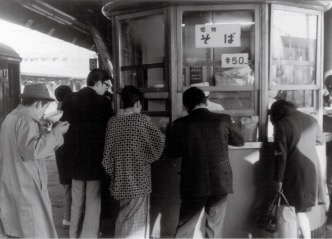 昭和30年代の姫路駅ホーム
