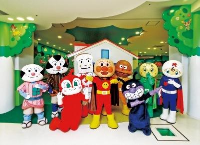 「神戸アンパンマンこどもミュージアム&モール」は、アンパンマンの世界が広がる体験型のミュージアム ⓒやなせたかし/フレーベル館・TMS・NTV