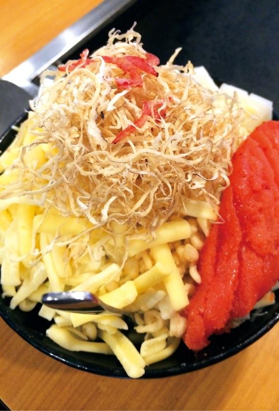 「おしお和(なごみ)」の明太もちチーズ¥1300