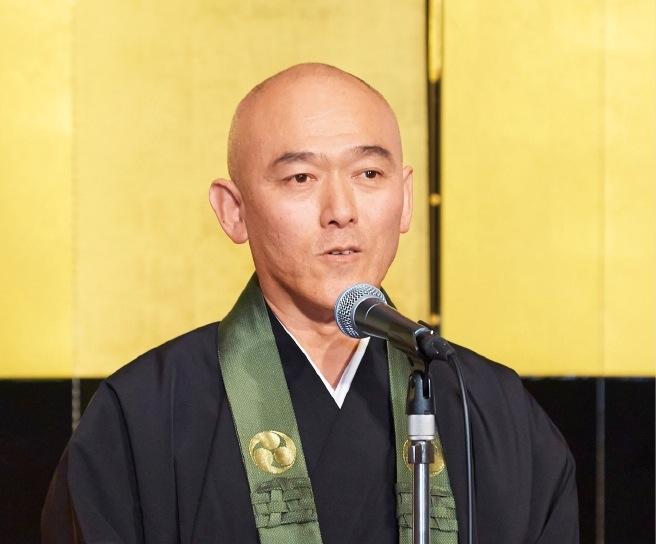 第70世住職に就任した宇賀浩生さん