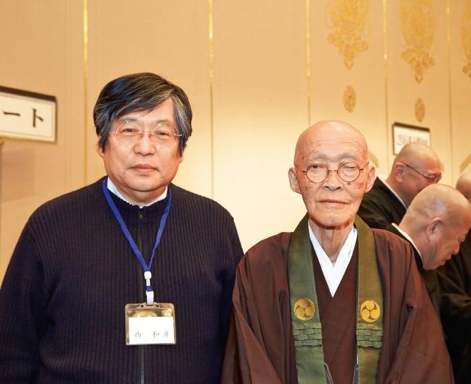 須磨学園理事長の西和彦さんも駆けつけた