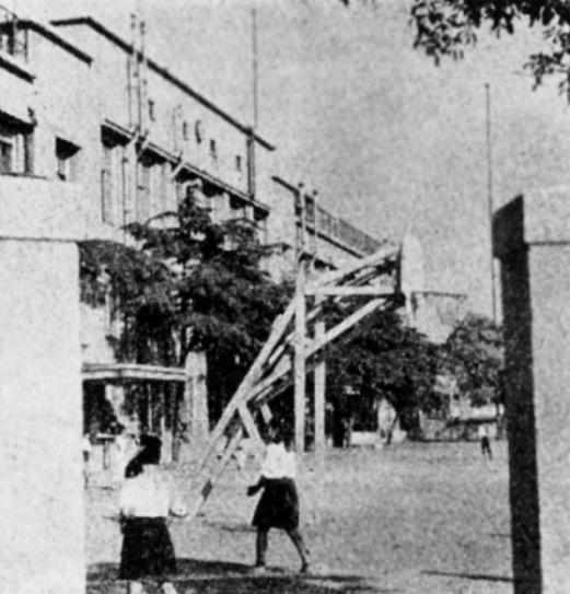 外事専門学校時代の大開校舎