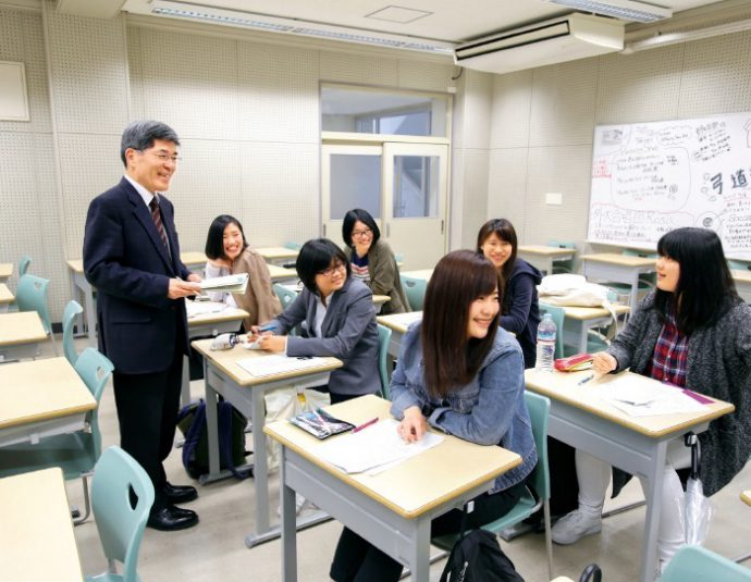 国際コミュニケーションコース(ICC)は船山学長が開設した