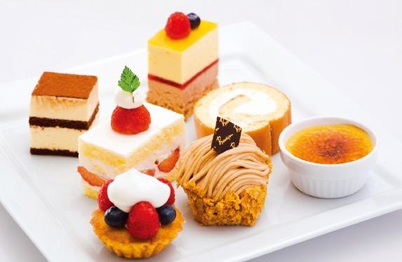 オリジナルプチケーキプレート 彩(いろどり)