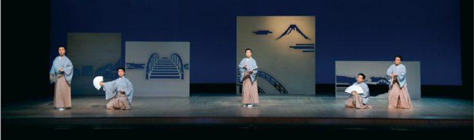 大和楽「江戸風流」(花柳吉小叟出演、とみさわかよの美術)