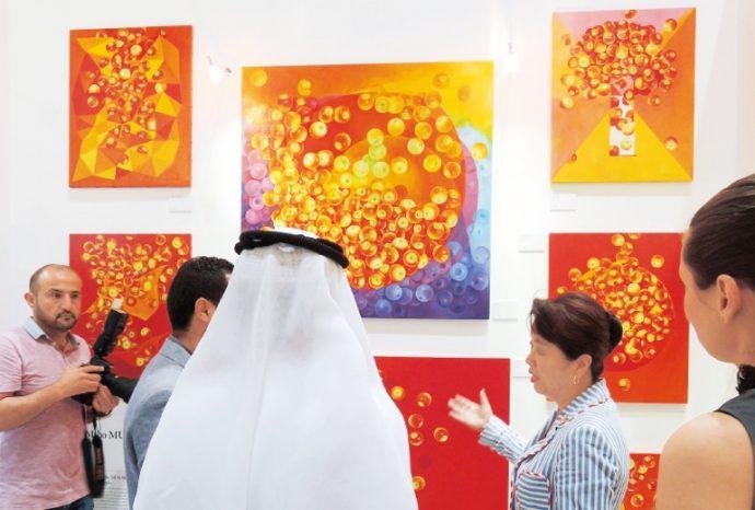 村上さんの作品は海外で高く評価されている