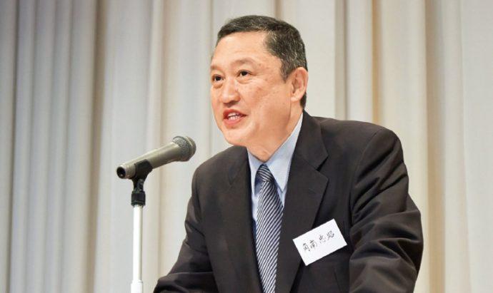 神戸今日会会長の角南忠昭さん