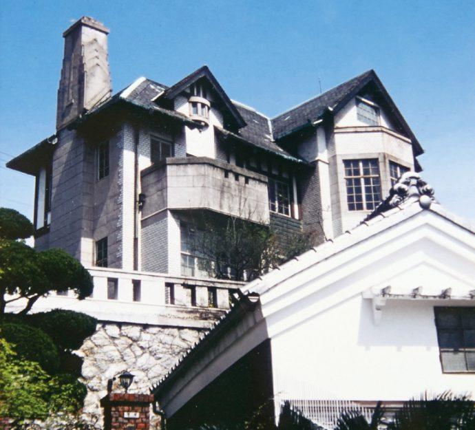 かつて東芦屋にあった竹内才次郎邸(現存せず)