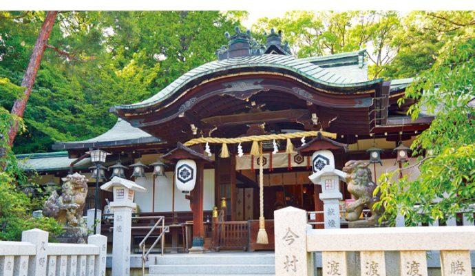 芦屋の山手に佇む芦屋神社。芦屋の歴史を見守りつづける
