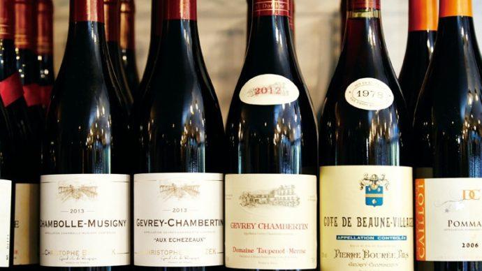 「やはりブルゴーニュ産のワインは安定した美味しさがある」と古河さん