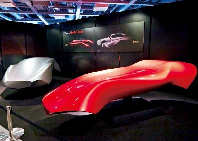 マツダ車デザインの原型となる「ご神体」も披露された