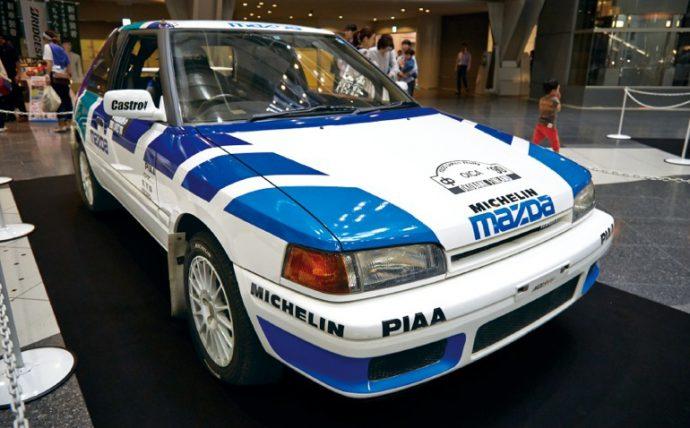 マツダ323(ファミリア)1000湖ラリー仕様 レプリカ