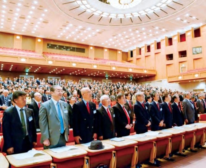 毎年3月に開催される第2680地区大会