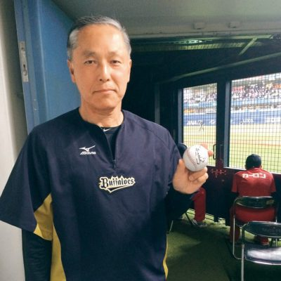 献身的にチームを支える松本正志さん