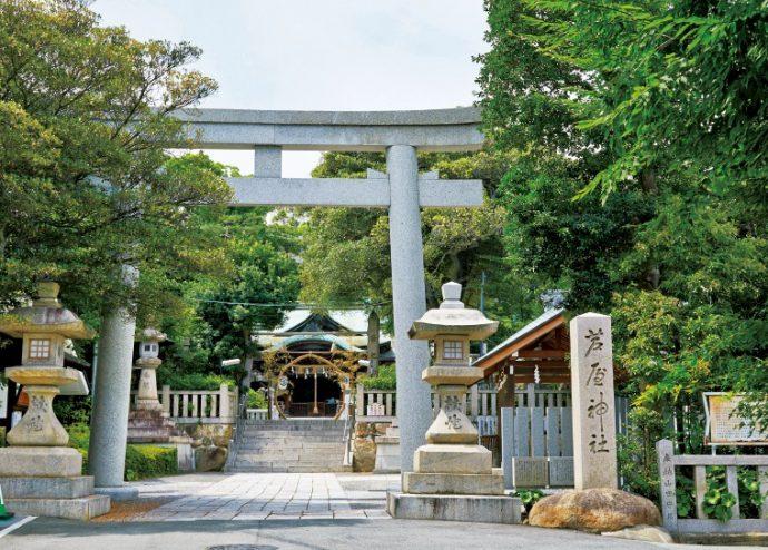 芦屋の街を見守りつづける芦屋神社