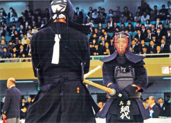 平成24年11月3日、第60回全日本剣道選手権大会で、兵庫県勢として45年ぶりにベスト4に進出した。 画像提供/兵庫県警