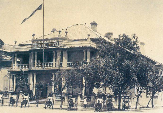 明治時代中期頃の旧オリエンタルホテル