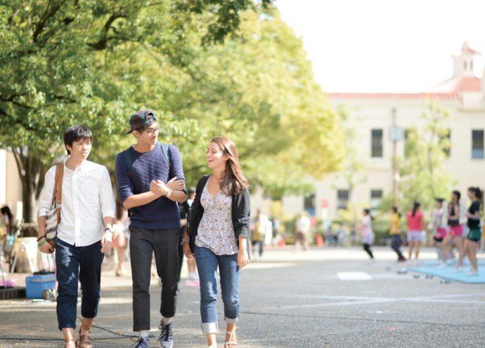 教育環境の良さも西宮市の人気の要因となっている(関西学院大学提供)