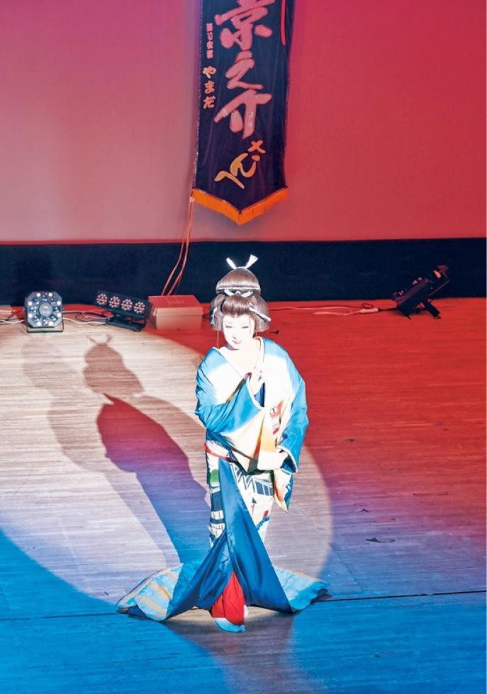 劇団花吹雪6月公演が行われていました
