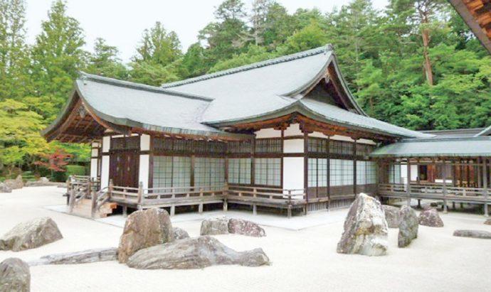 奥殿は本山の貴賓室で、昭和9年(1934)の弘法大師御入定1100年御遠忌の際に建てられた