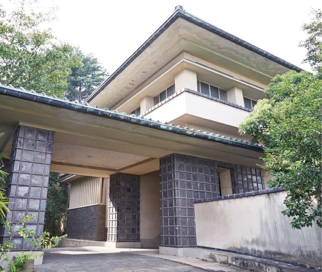 現在でも滴翠美術館として残る山口吉郎兵衛邸