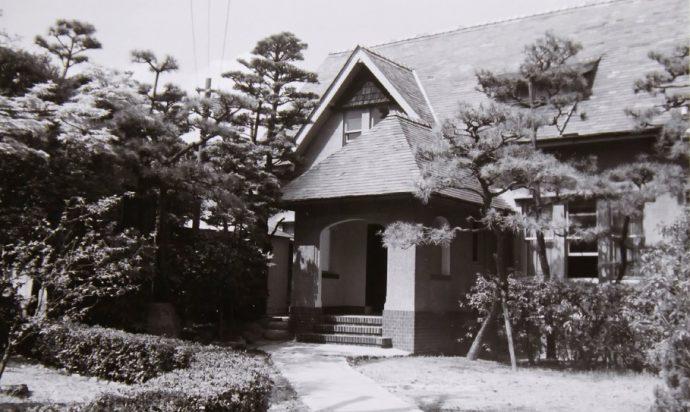 渋谷義雄邸は大正7年(1918)竣工。現存する