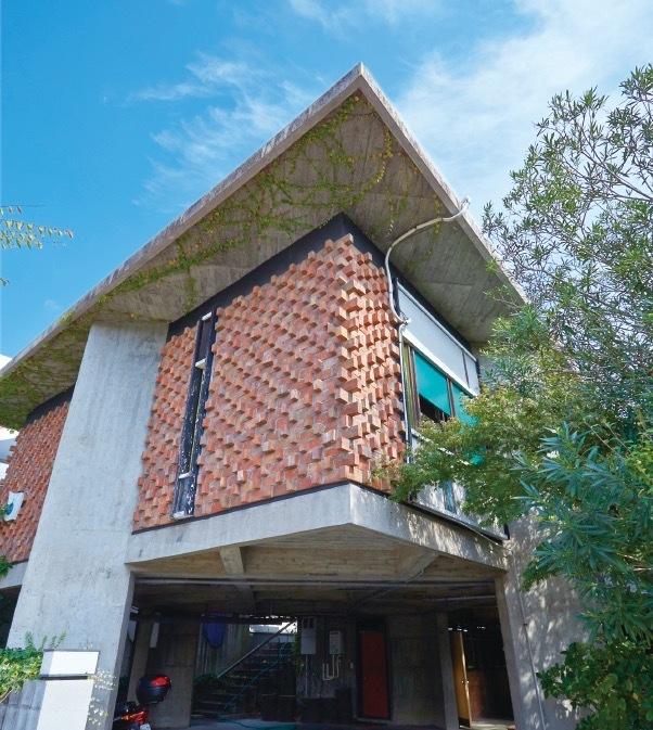 モダニズム建築の中でも一際異彩を放つ浦邸
