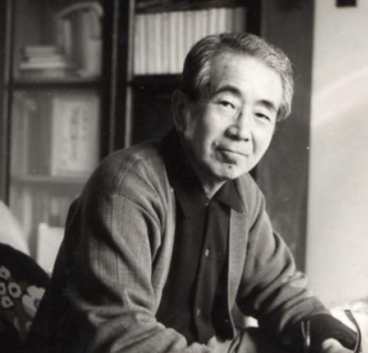 日本洋画界を代表する小磯良平(1903~1988)。 住吉に邸宅兼アトリエを構えた。荒尾純撮影