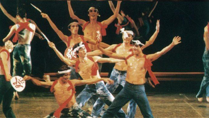 創作バレエ「祭」(1985年 バレエ団創立20周年記念公演)