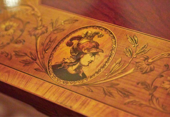 イギリス製「ティーテーブル」1860年頃