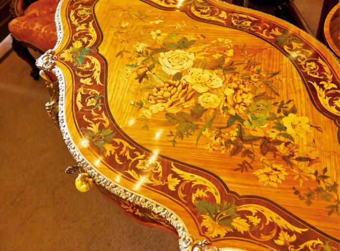 フランス製「センターテーブル」1860年頃