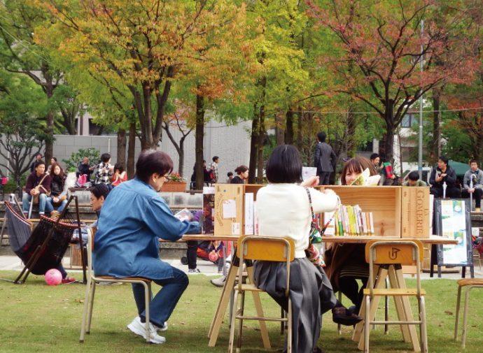 東遊園地の活用について、検証や実験のために開催された「アーバンピクニック」
