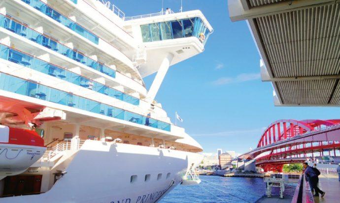 神戸市では、国内外からの客船の誘致にも力を入れている