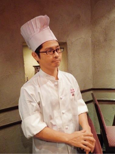 料理長・安原陽介さん