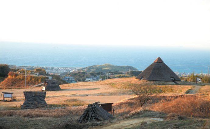 台風からの復旧調査の際、農地から弥生時代の遺跡が出土