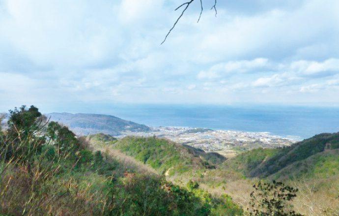 伊勢の森の頂上から眺める絶景