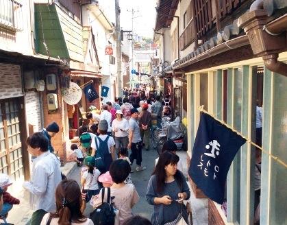 400年の歴史を誇る洲本の城下町